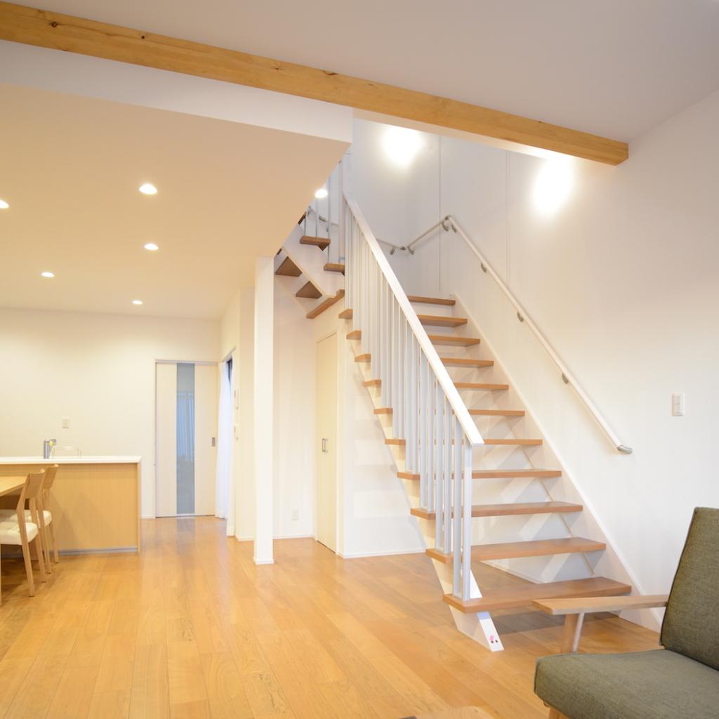 LDKとオープン階段