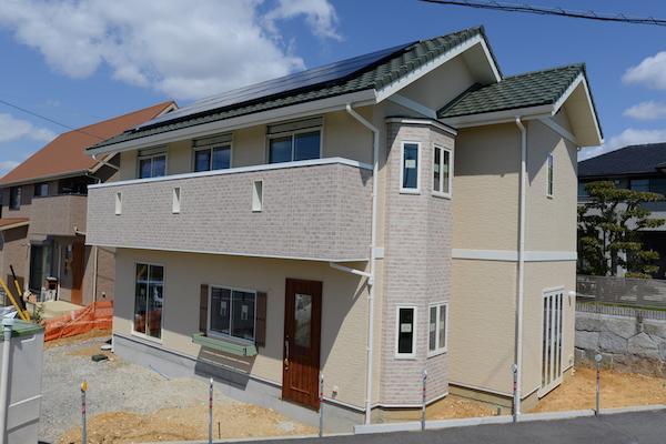 南欧風新築住宅