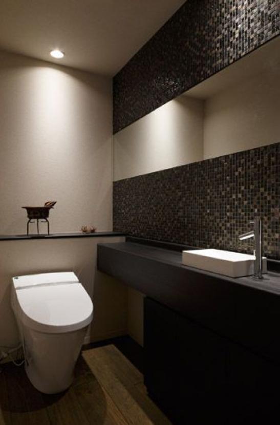 インテリア性の高いトイレ