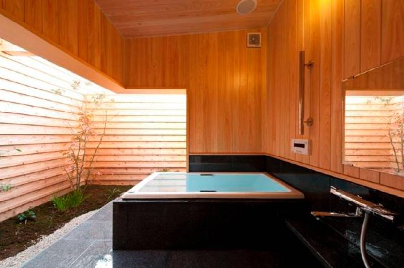 和風のお風呂