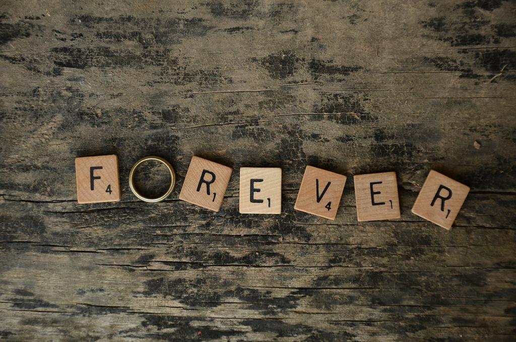 置き去られた結婚指輪