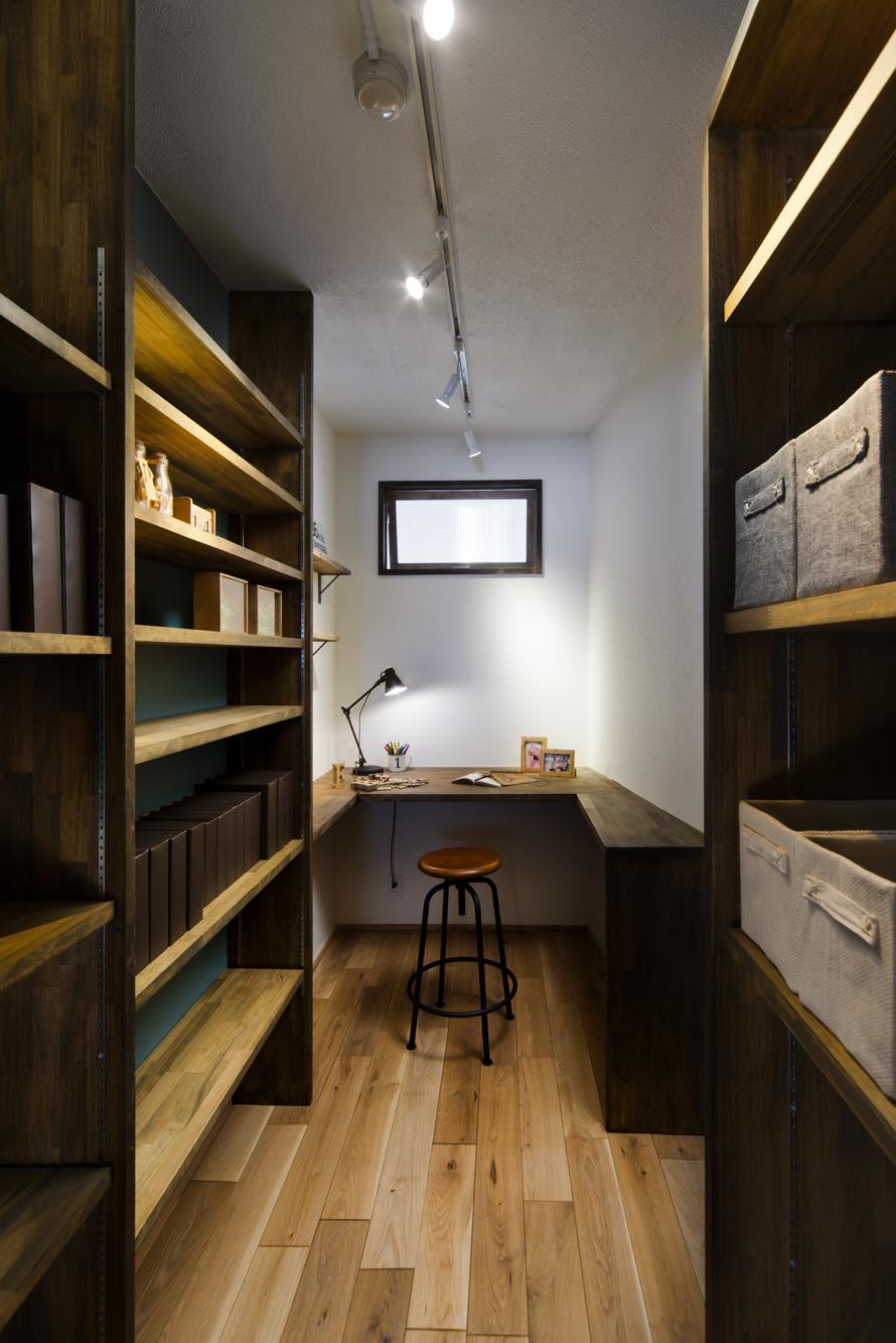 秘密基地のような個室