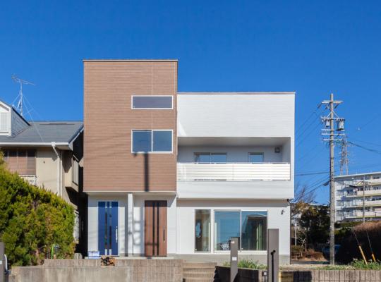 2世帯住宅の外観
