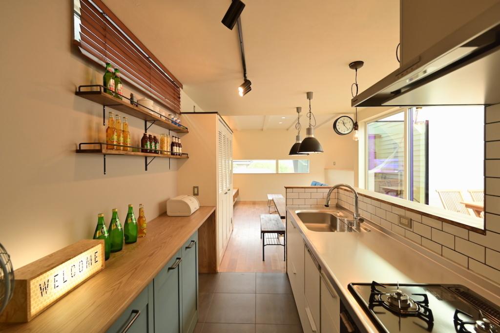 ホロスホーム 安城里町の家 キッチン