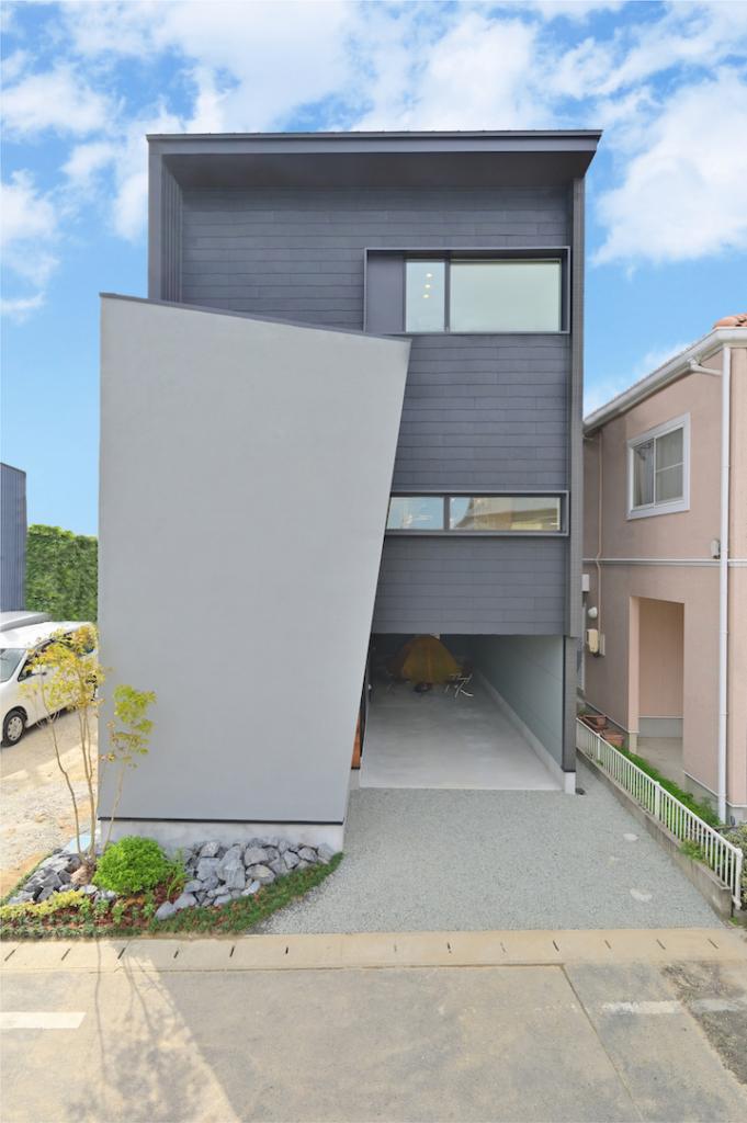 3階建て 外観