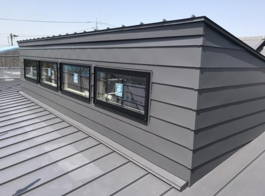 屋根・壁 鈑金工事