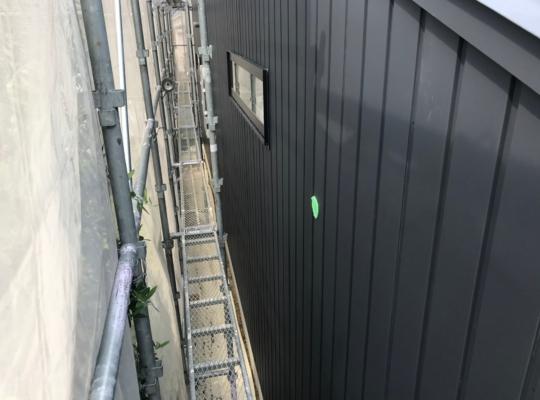 外壁工事 進捗状況