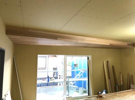 木工事 完了