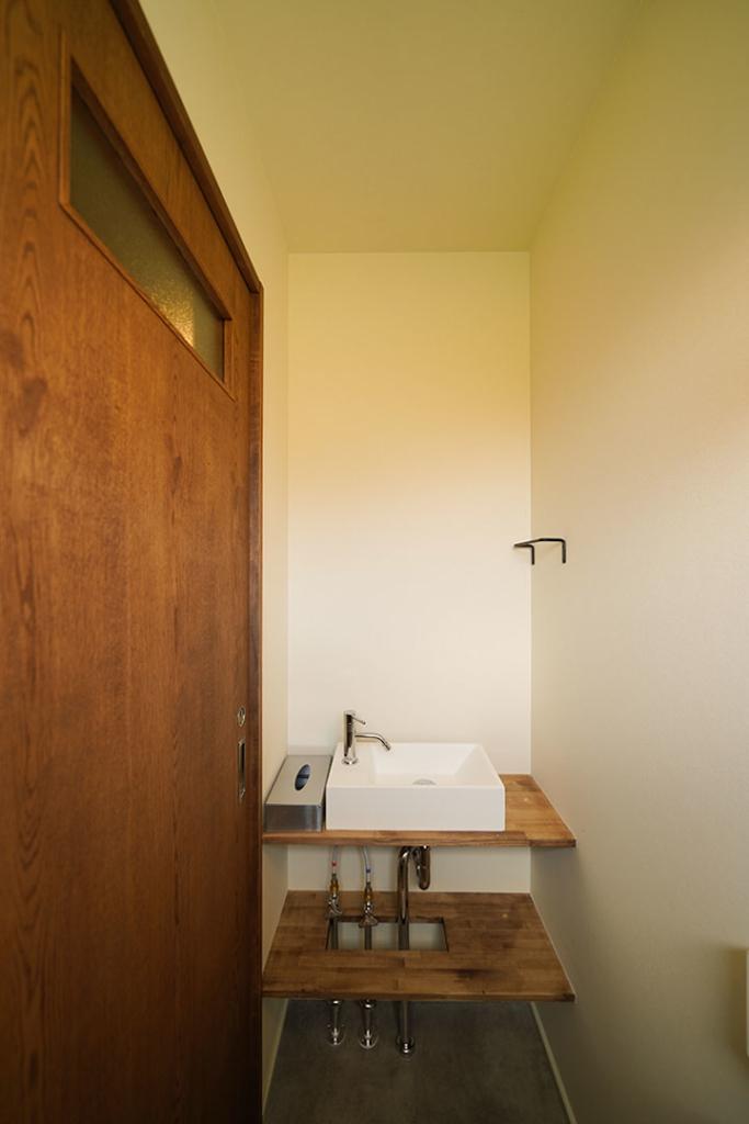 トイレ造作手洗い